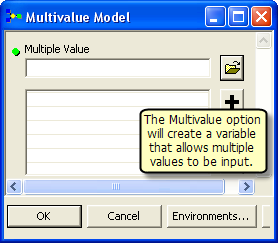 Creating multivalue variable
