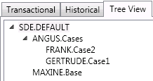 Geodatabase containing multiple versions