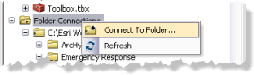 Create Folder Connection