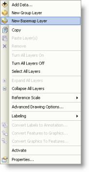 Adding a new basemap layer
