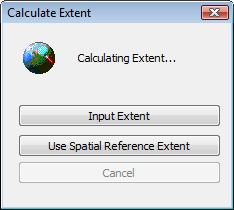 Alternate ways to calculate the extent