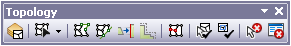Topology toolbar