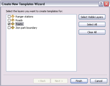 Create New Templates Wizard