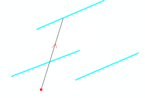 cutting a multi-part polyline using a cutting line