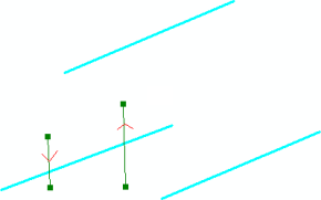 cutting a multi-part polyline using a multi-part cutting line