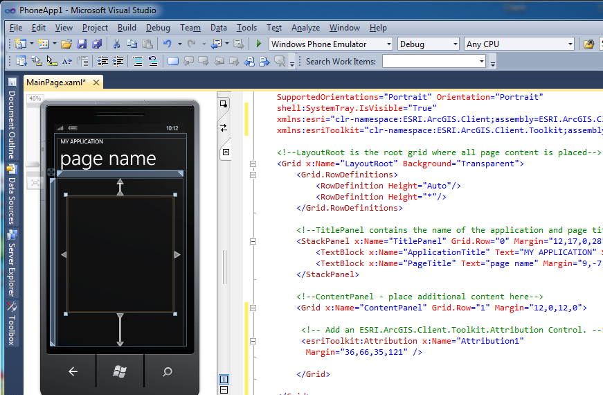 ArcGIS API for Windows Phone - Library Reference